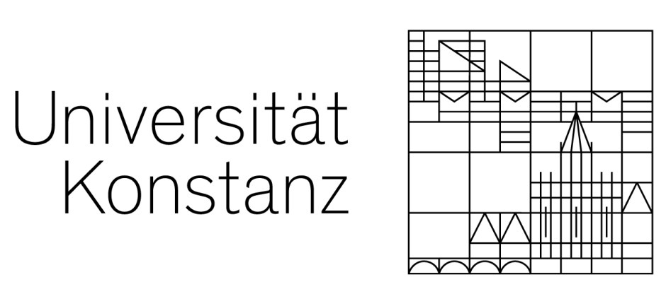 Bild zeigt Logo mit Schriftzug Universität Konstanz.