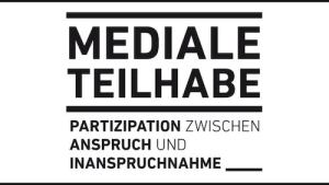 Logo der Forschungsgruppe Mediale Teilhabe