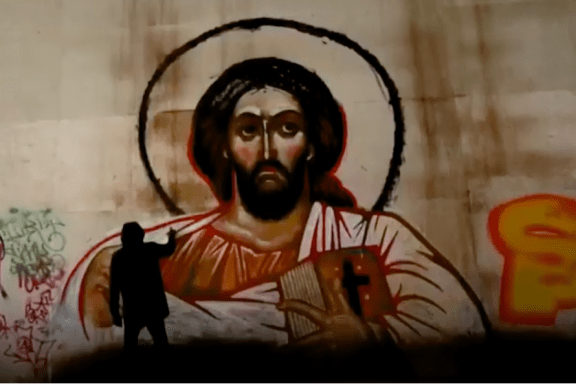 Christian Graffiti in Moscow