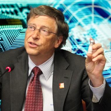 Bill Gates via Activistpost.com and Avi Goldstein via unsplash.com