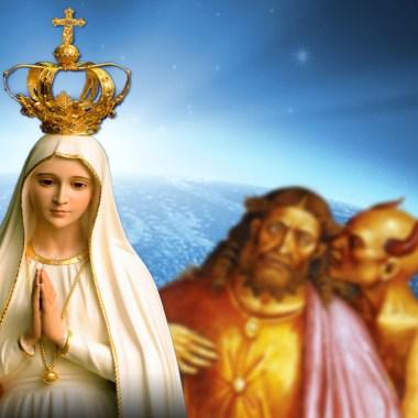 MARY-https://3.bp.blogspot.com/-AFAA2DtjonY/U2ufW2rapFI/AAAAAAAADO8/tc_RK5euLdA/s1600/MARY+-+Fatima+3.jpg--ANTICHRIST--https://apostolicinsider.com/wp-content/uploads/2018/04/antichrist-Tim-Staples.jpg--GLOBE--https://worldbusiness.org/wp-content/uploads/2012/10/world-business-academy-hero.jpg
