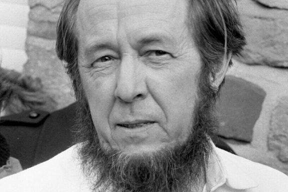 Aleksandr Solzhenitsyn photo by Bert Verhoeff