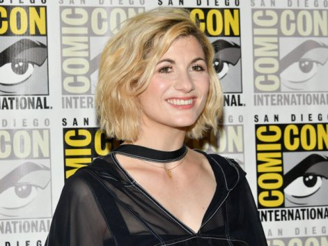 Image result for Comic-Con fans go wild meeting first female 'Doctor Who'