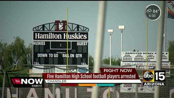 Four students in Chandler arrested for hazing crimes at ...