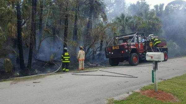 Fire burning in Golden Gate Estates - Fox 4 Now WFTX Fort ...