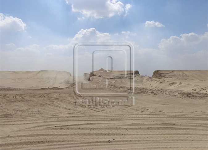 بدء الحفر فى بقايا خط بارليف بالقناة الجديدة المصري اليوم