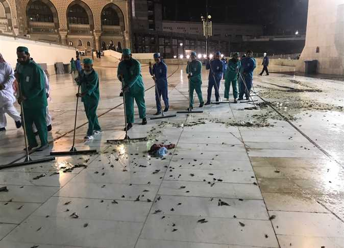 حقيقة منع الصلاة في الحرم المكي بعد هجوم الصراصير فيديو