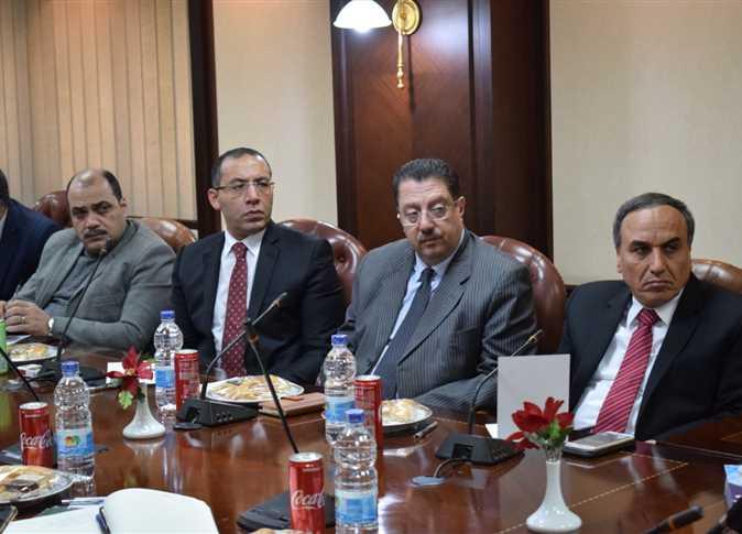 سفير خادم الحرمين الشريفين يودع بعثة الحج الرسمية المصرية