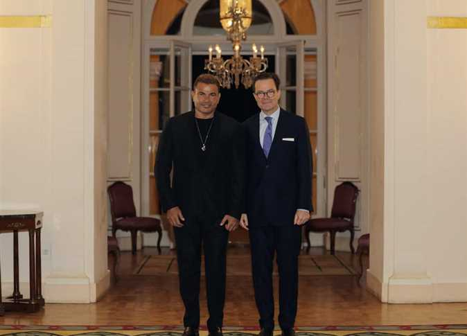 عمرو دياب يتألق في حفل السفارة الفرنسية (صور) 1511840 0