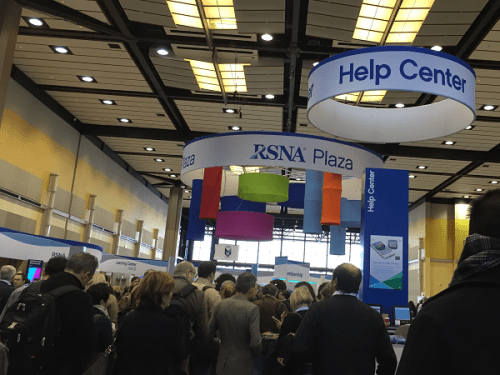 RSNA Trade show photo