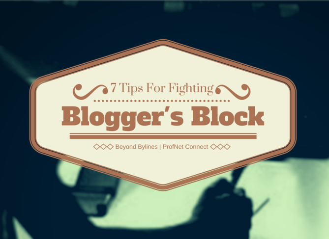 7 tips for fighting bloggers block1