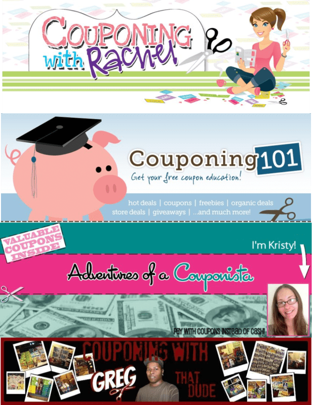 Blogs We Love Couponing Blogs