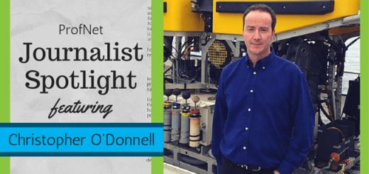 journalist spotlight template 1