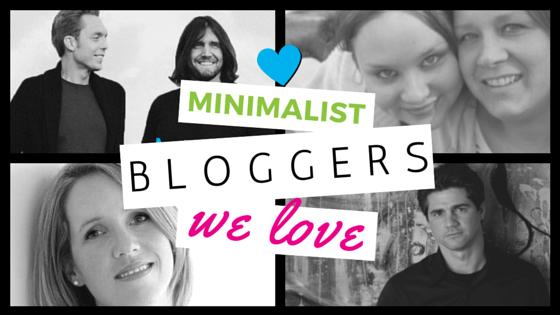 Minimalist blogger header