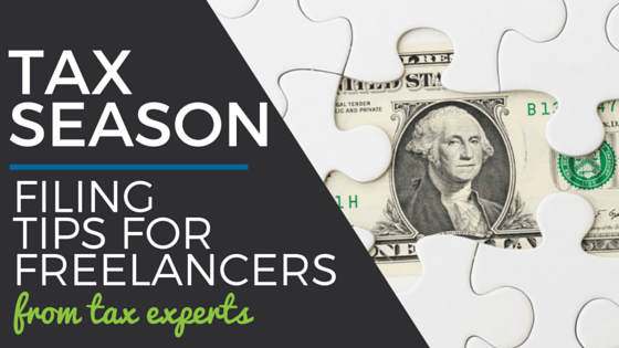 Tax filing tips for freelancers