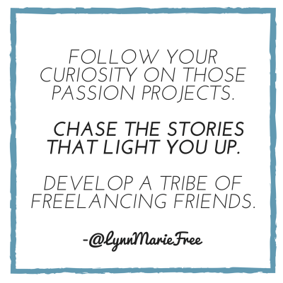 Develop a tribe of freelancing friends