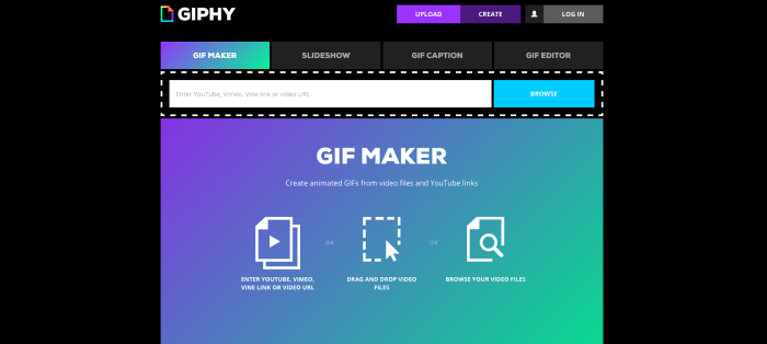GIF Maker Video to GIF Creator Tools GIPHY