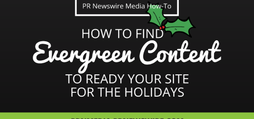 PR Newswire for Journalists