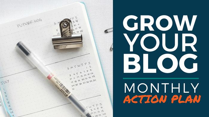 Blog Action Plan