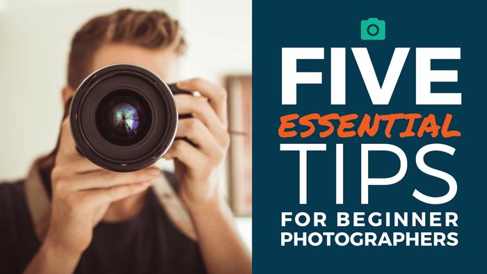 Beginner Photo Tips