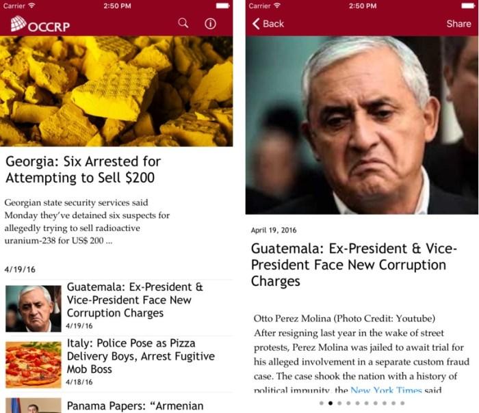 OCCREP News App