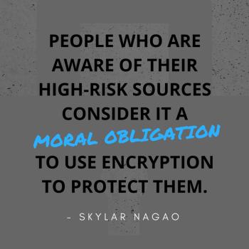 Skylar Nagao Peerio Encryption