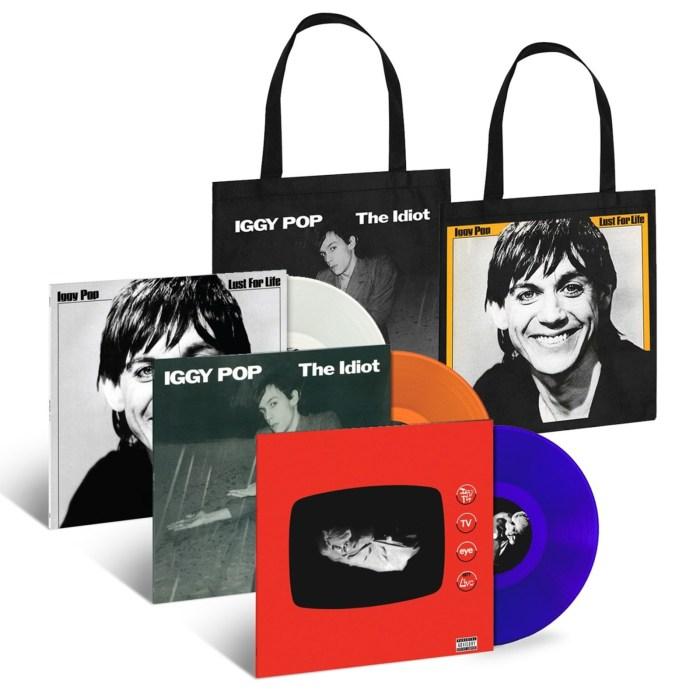 UMe Resurrects Iggy Pop's Historic First Three LPs On Limited-Edition Colored-Vinyl On June 2, 2017