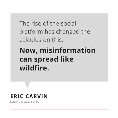 Eric Carvin, Social Media Editor at @AP