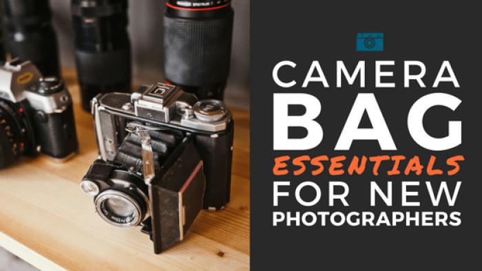 Photo equipment for new photographers
