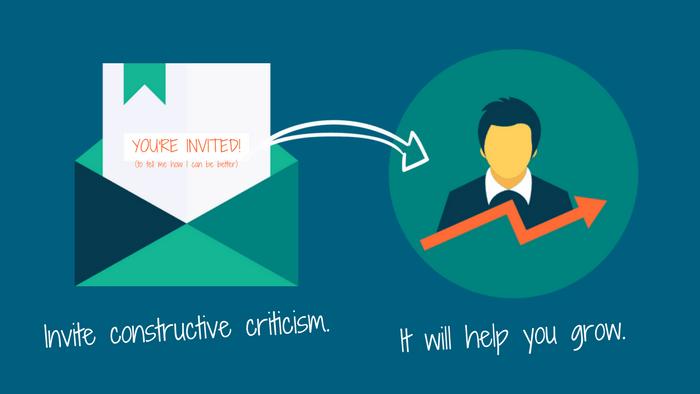 Writing Tip 5: Invite constructive criticism