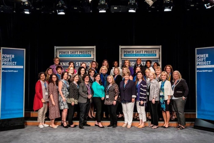 Graduating class of Integrity Trainers - Newseum