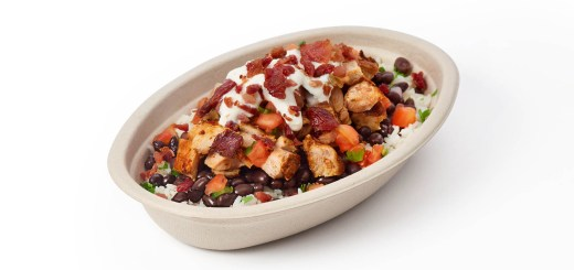 Chipotle Mexican Grill Bacon Bowl
