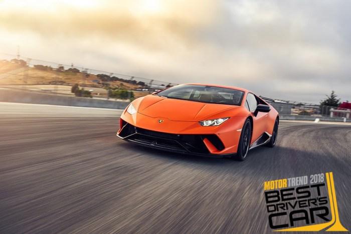Lamborghini Huracan Performante - Motor Trend 2018 Best Driver's Car