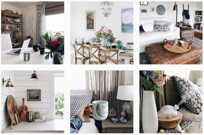 Six recent posts from @theinspiredroom on Instagram