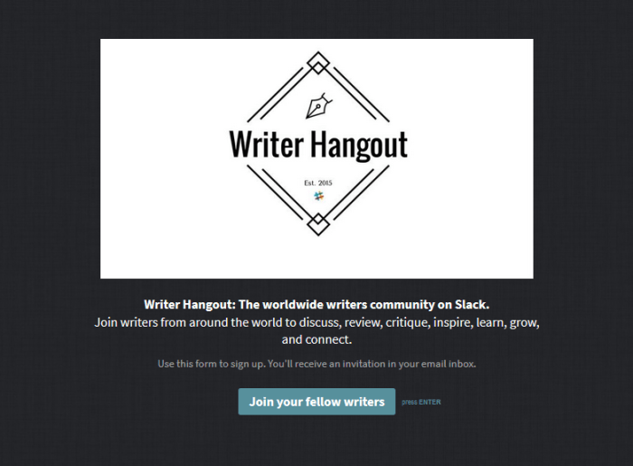 Writer Hangout on Slack: The worldwide writers community on Slack