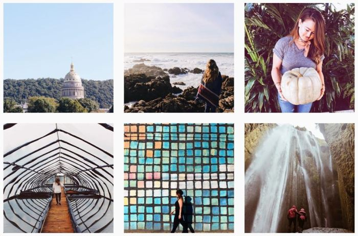 Six recent posts from @travelingwithnina on Instagram