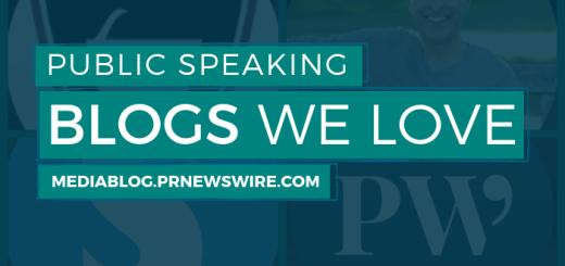 Public speaking blogs