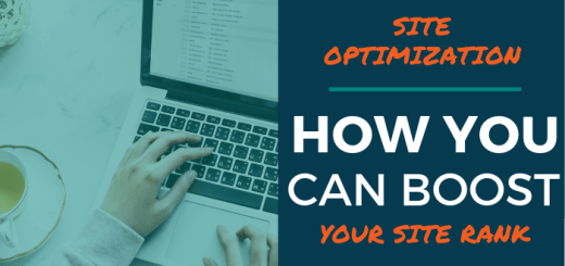 Site Optimization: How You Can Boost Your Site Rank