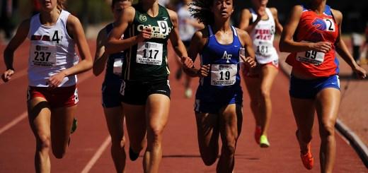 female track race
