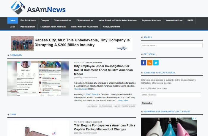 Top Asian American News Sites: AsAm News