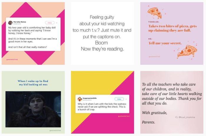Motherhood Blogs We Love: @momdotme on Instagram