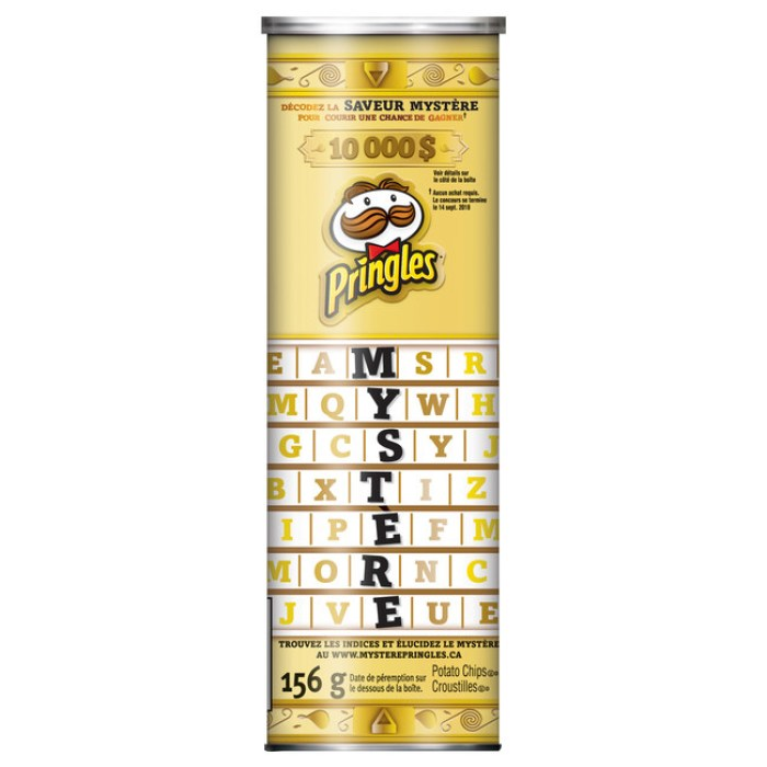 Pringle's new Mystery flavor chips