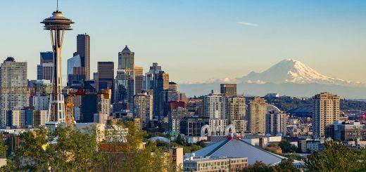 Seattle Washington downtown skyline
