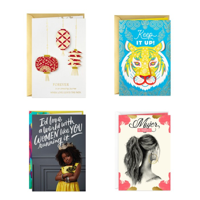 Hallmark new multicultural cards