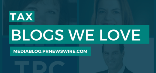Tax Blogs We Love - mediablog.prnewswire.com