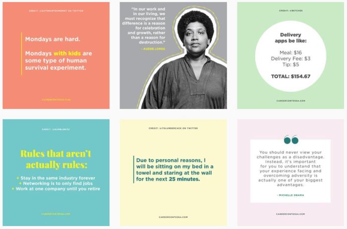 Career Women Blogs We Love - @careercontessa on Instagram