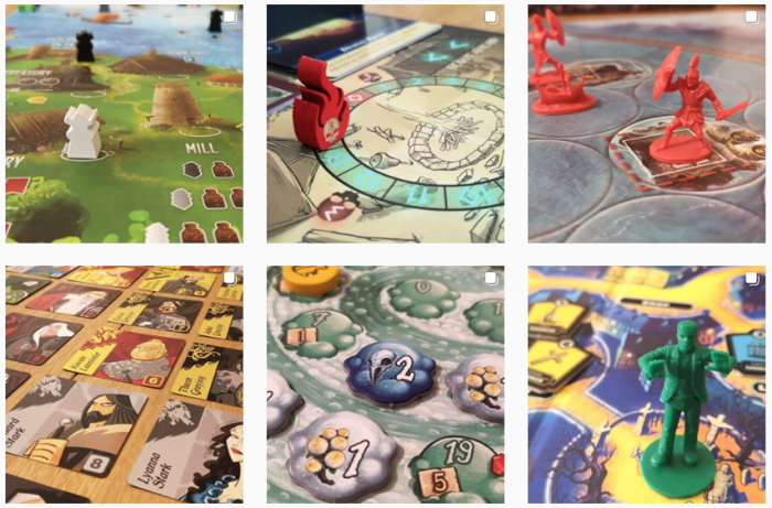 Board Game Blogs We Love - @startyourmeeples on Instagram