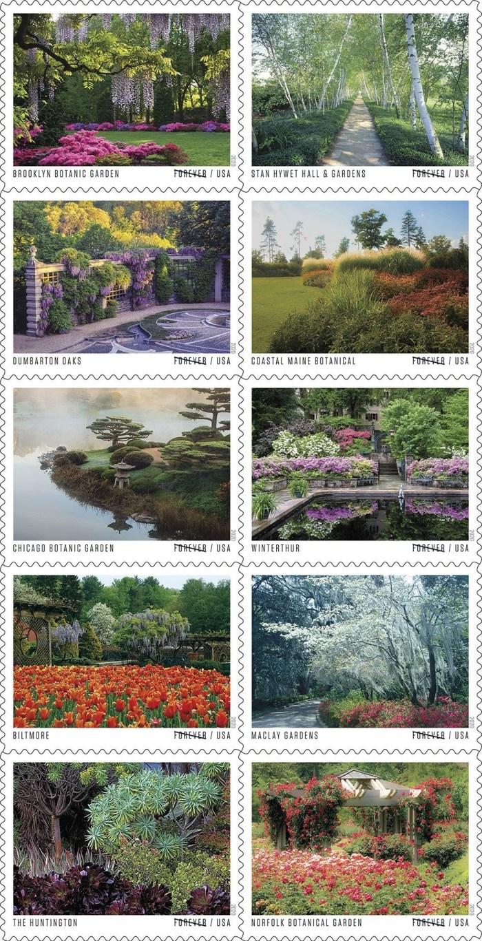 USPS American Garden Stamps
