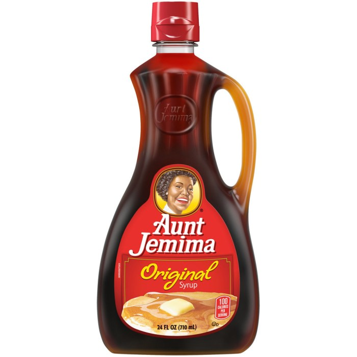 Aunt Jemima Original Syrup bottle