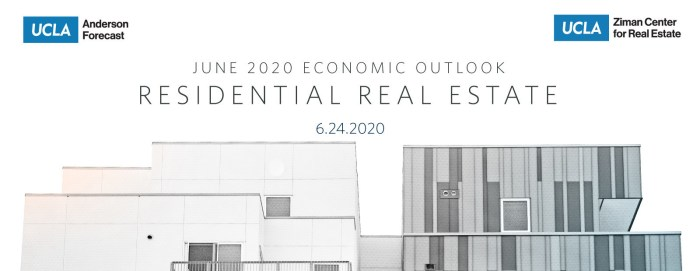 UCLA Anderson Forecast June 2020 Economic Outlook